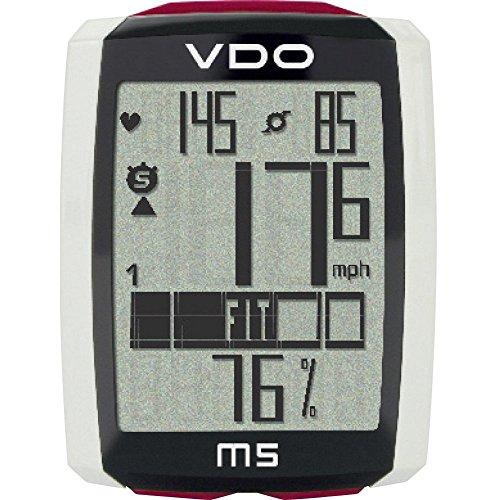 Preisvergleich Produktbild BELTRAMI Vdo Fahrradcomputer M5 Wireless mit Sensor,  Geschwindigkeit