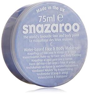 Snazaroo - Maquillaje al agua para cara y cuerpo (75 ml)- color cielo azul
