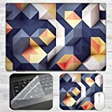Abstract Colorful 3D Background Laptop S...