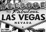 Las Vegas - Schwarzweiß (Wandkalender 2019 DIN A2 quer): Erleben Sie das farbenfrohe Las Vegas mal in schwarzweiß (Monatskalender, 14 Seiten ) (CALVENDO Orte)