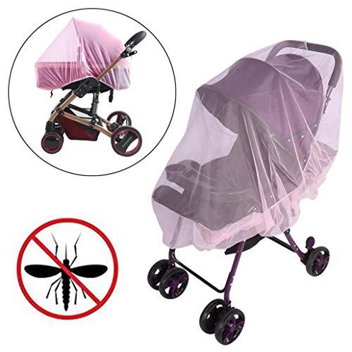 Zanzariera universale per passeggino, zanzariera, zanzariera, grande, protezione dagli insetti, rete elastica di protezione per passeggino, carrozzina, passeggino e culla da viaggio