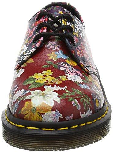 Dr. Martens Damen 1461 Fc Derby Schnürhalbschuhe, Floral Mix Mehrfarbig (Multi Floral Mix Backhand)