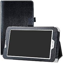 """LFDZ Archos Access 70 3G Coque, Slim Fit Housse Support Ultra-Mince et Léger Etui Cover pour 7.0"""" Archos Access 70 3G Tablet,Noir"""