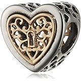 Pandora Damen-Charm Herzensornament 925 Silber - 791740