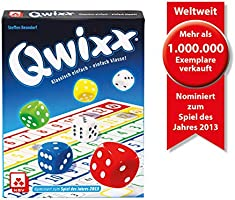 NSV - 4015 - QWIXX - nominaal tot het spel van het jaar 2013 - dobbelspel