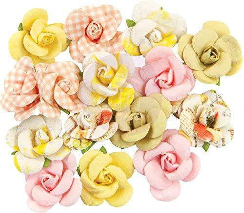 Unbekannt Prima Marketing Mulberry Paper Flowers -Tart Apple/Fruit Paradise, 15/Pkg -