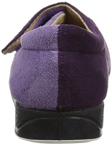 Padders Damen Hug Niedrige Hausschuhe, Violett Purple (Purple/Lilac)