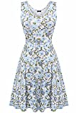 ACEVOG Women Evening Cocktail Beach Casual Mini Floral Party Short Dress