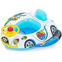 Vococal - Barco Flotador de Piscina Inflable Nadar Anillo Asiento para Niños Niñas Bebés,Estilo
