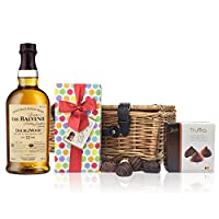Balvenie 12 YO DoubleWood and Chocolates Hamper from Drinxcom