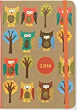 2016 Owls Weekly Planner (16-Month Engagement Calendar, Diary)