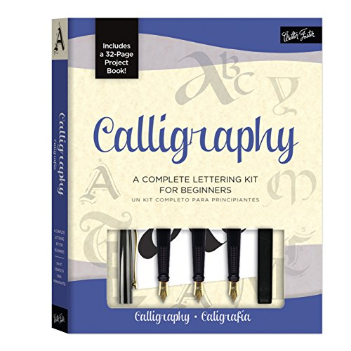 Calligraphy Kit: A complete kit for beginners por Arthur Newhall