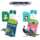 #9: Aquatic Life + Birds | Age 3-10 Years | Complete Activity Kit for Boys & Girls | Augmented and Virtual Reality Based Mind Development Games | Combo Kit of 2