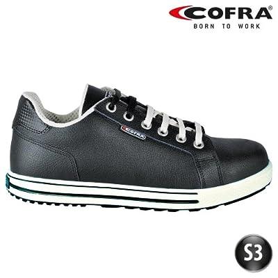Cofra Sicherheitsschuhe Throw S3 SRC Old Glories 35070-003 im Sneaker-Look, schwarz