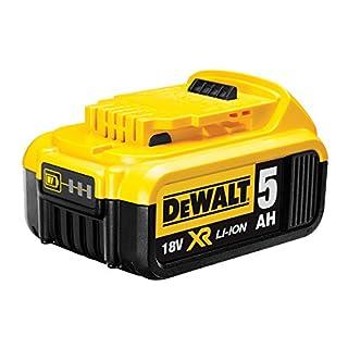 DEWALT DCB184-XJ DCB184 18V XR li-ion Battery 5Ah, 18 V, Black/Yellow