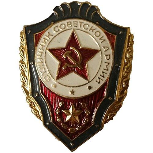 Russisches Abzeichen UdSSR Armee sowjetische militärische Pin Bester -