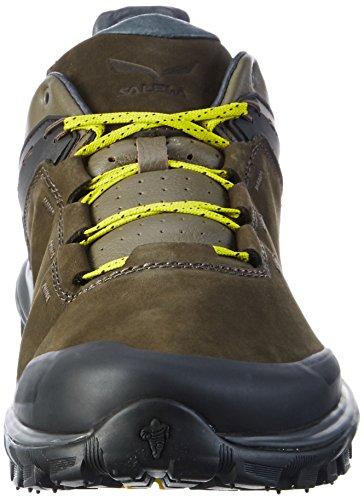 Salewa Herren Ms Wander Hiker L Trekking-& Wanderhalbschuhe Mehrfarbig (Black Olive/Bergot 0948)