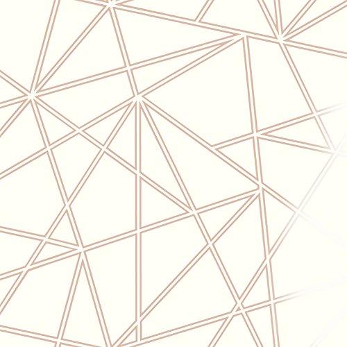 3d Apex géométrique papier peint Triangle métallique de luxe–Palladium Holden Decor