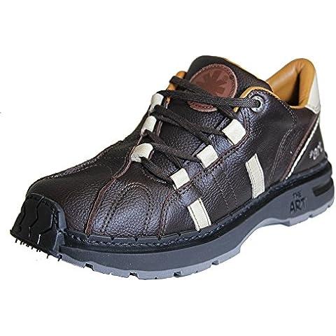 The Art Company - Zapatos de cordones de Piel para hombre Marrón marrón One Size