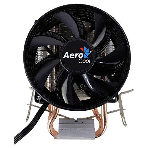 Aerocool VERKHO 2 - Disipador Gaming para Ordenador (Ventilador 9 mm, HCTT,...
