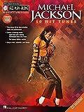 Jazz Play Along Volume 180 Michael Jackson 10 Hit Tunes Book/Cd