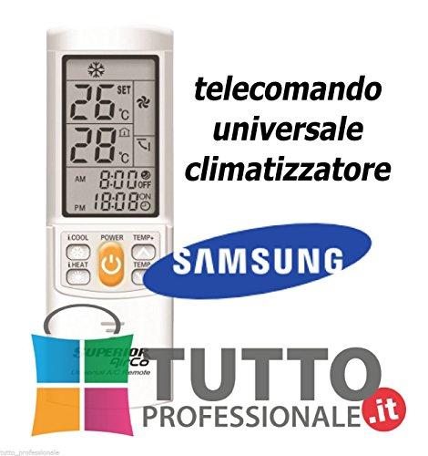 Telecomando universale condizionatore climatizzatore SAMSUNG UNIVERSALE
