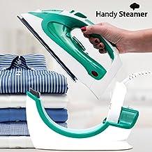La original HandySteamer inalámbrica con suela de cerámica. La nueva plancha a vapor inalámbrica, potente y muy práctica, modelo 2200W, con termostato, control del vapor y sistema autolimpiable para prevenir la acumulación de cal.