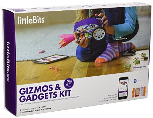littleBits - Gizmos y Gadgets kit segunda edición, juego de mesa en...