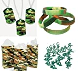 Military Army Party Favors Boys Camoufla...
