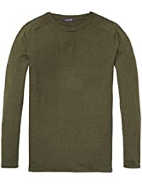 Scotch & Soda Herren Cotton-Cashmere Pullover