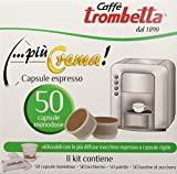 Caffè Trombetta Capsula Più Crema - Confezioni da 50 Capsule