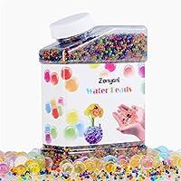 Abalorios de agua Orbeez, Zonyanl Granos de gel de agua de colores Jelly Agua Perla Aqua Cristales de suelo para juguetes de niños sensoriales, Foot Spa, Furgonetas, decoración de plantas (42,000PCS)