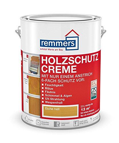 Remmers Holzschutz-Creme - weiß 2,5L