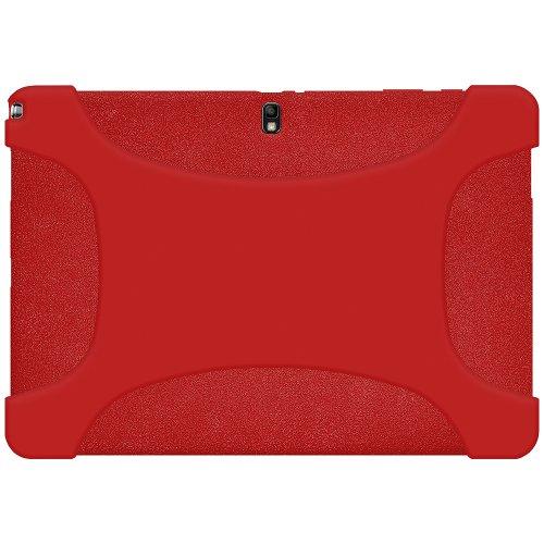 Amzer Exclusive Silikonhülle für Samsung Galaxy NotePRO 12.2 SM-P900/TabPRO 12.2 SM-T900 - Rot