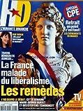 HUMANITE DIMANCHE [No 5] du 06/04/2006 - JANE BIRKIN / ON PEUT FAIRE BOUGER LE MONDE - SPECIAL C.P.E. - LA FRANCE MALADE DU LIBERALISME / LES REMEDES - MARIE-GEORGE BUFFET ET DES CITOYENS TEMOIGNENT