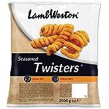 Lamb Weston Frozen Seasoned Potato Twisters - 1x2.5kg