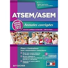 ATSEM/ASEM - Annales corrigés - Nouveaux concours 2012
