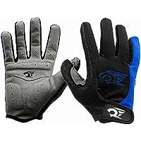 IKuaFly Guanti Moto Invernali Crossfit Gel Pad Palma Protezione Waterproof - Bici Cislismo Windstopper Gym Gloves (XL)
