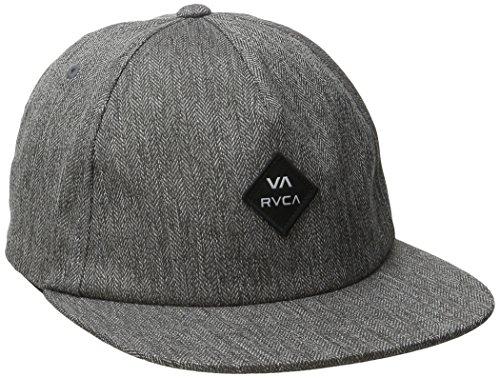 rvca-gorra-de-beisbol-hombre-negro-gris-talla-unica-us-talla