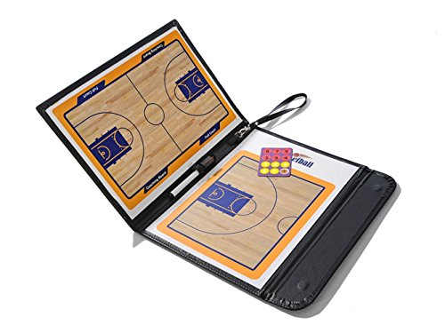 katech-coaching-basketball-tableau-magnetique-pliable-portable-basketball-coach-collective-livre-ens