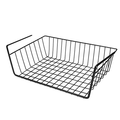 ChaRLes Unter Hanging Shelf Wire Speicher Baskets Kitchen Pantry Schreibtisch Kabinett Cupboard Rack Organizer - #2