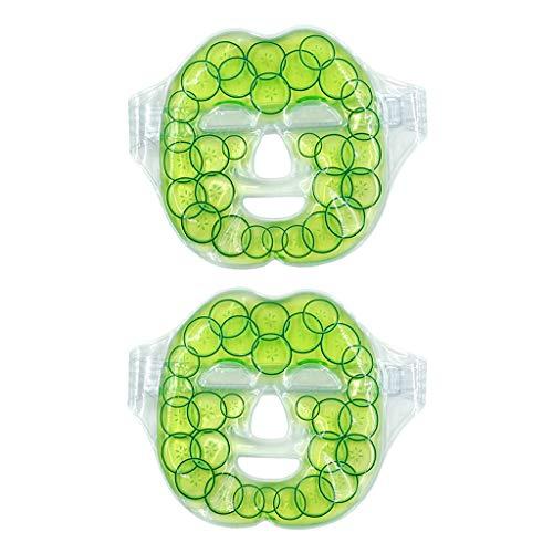 FLAMEER 2pcs Freezable Microwavable Mask Gel Wärme Kalt Für Taschen Unter Augen Trockenes Gesicht Freezable Gel