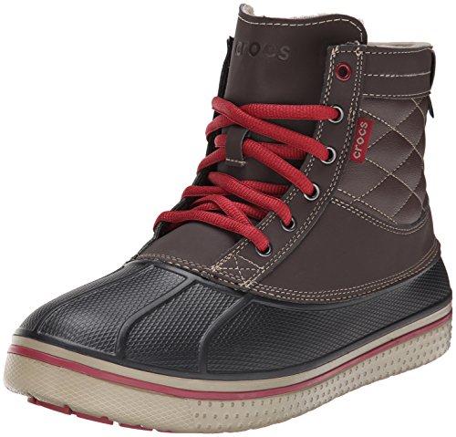 Crocs Allcast Waterproof Duck Boot M, Scarpe sportive da Uomo, colore marrone (espresso/clay 2n0), taglia 42-43 EU (8 UK) (M9 US)