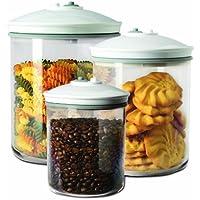 FoodSaver FSC003-I-065 - Set de 3 tarros de envasado al vacío