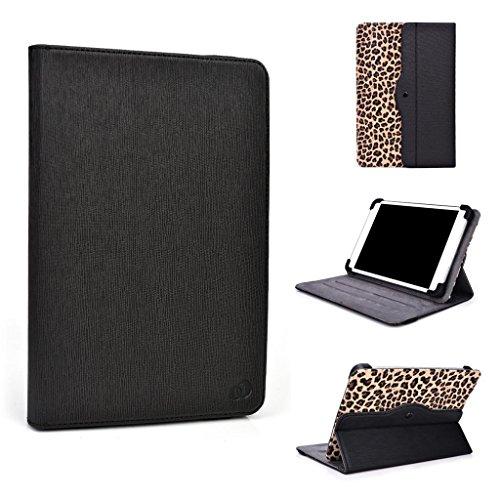 Kroo Tablet Tasche für Acer ICONIA TAB A100 Universal für 7-8-inch Tablet 360 drehbar braun