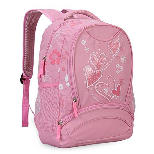 Imagen de veevan  con dulce corazón para niños escolares rosa  alternativa