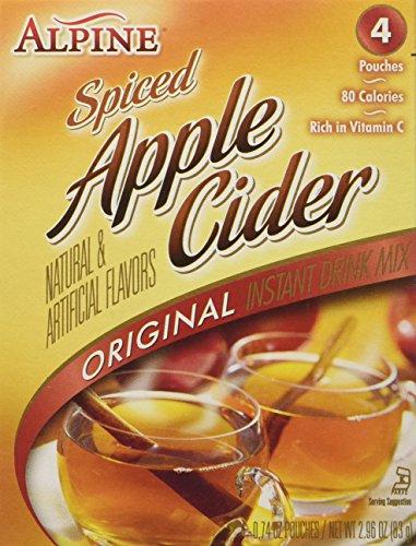 Alpine Spiced Apple Cider Original Instant Drink Mix 4 Sachet 83g