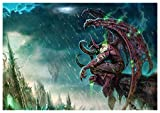 Poster Illidan Stormrage - The Betrayer World of Warcraft A3 (42x30 cm) A