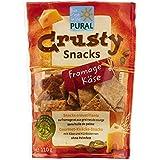 Pural Crusty Snack Croustillant au Fromage et Graines de Courge Bio 110g