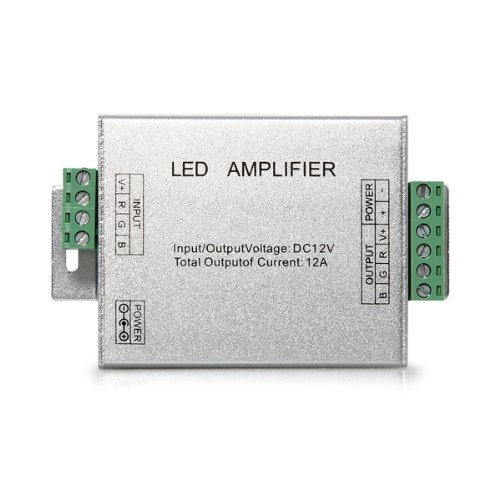 Sonline Signal Verstaerker Amplifier Repeater DC 12V fuer RGB LED Strips Streifen
